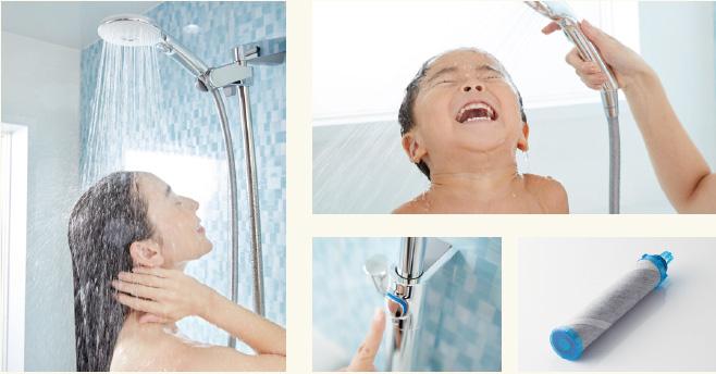 いつものシャワーを変えて、心地よい毎日へ